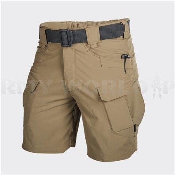 "SHORTS Outdoor Tactical Shorts OTS 8,5"" Helikon-Tex- Nylon Mud Brown New"