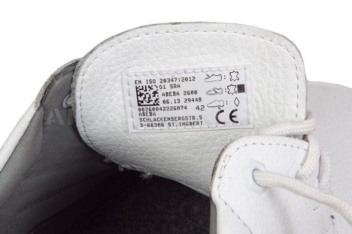 Safety Shoes ABEBA 2600 Air Cushion White New