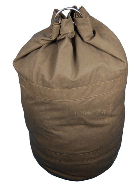 Sailor's Transport Bag Military Tarpaulin Bag Bundeswehr 110l Demobil SecondHand