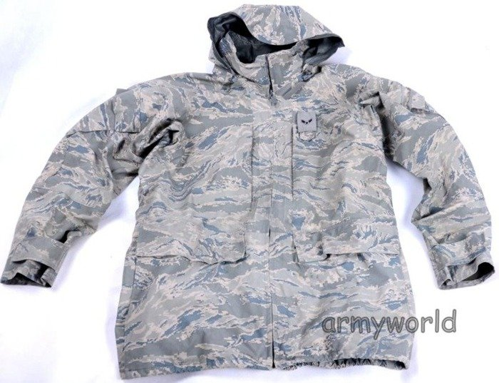 Set Goretex (Jacket + Trousers) Rainproof Military American US Army Air Force Original Demobil