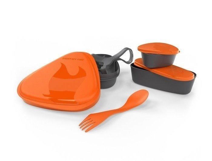 Set of containers LunchKit Light My Fire Orange - New