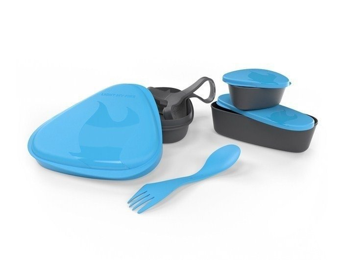 Set of containers LunchKit Light My Fire blue - new