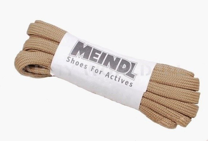 Shoe laces MEINDL Khaki Original 230 cm - New