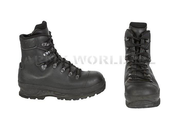 Shoes Goretex HAIX ® TREKKER PRO S3 Bundeswehr Original Demobil Sufficient Condition