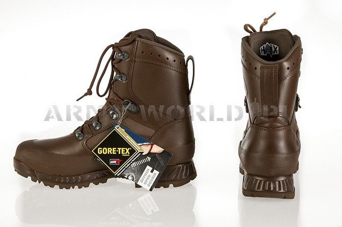 Shoes Haix Military Leather British Boots Combat High Liability Goretex New - II Quality