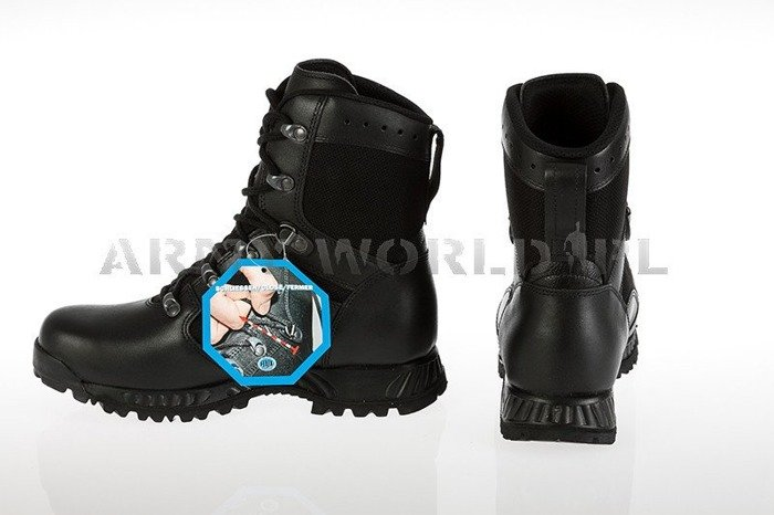Shoes Haix® Military Swedish Boots Jungle Boot Black Original New II Quality
