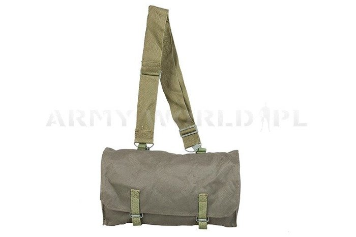 Shoulder Bag Respirator Haversack Oliv Polish Army Original New