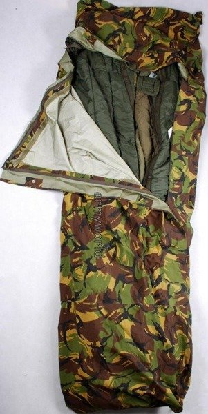 Sleeping Bag Cover Bivi Cover CARINTHIA Norka Gore-tex Dutch DPM Oriinal Demobil