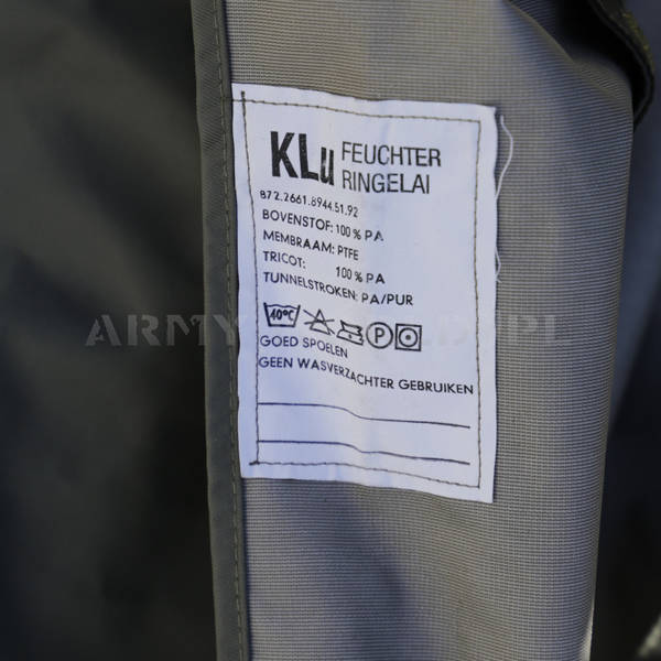 Sleeping Bag Cover Gore-Tex Military Dutch Original Oliv Demobil