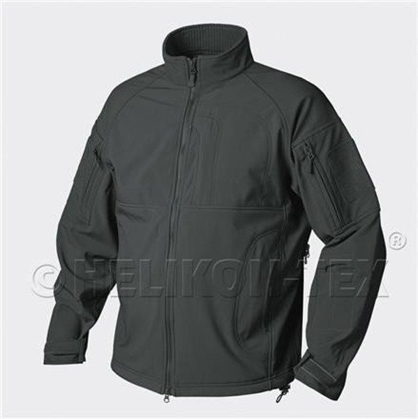 Soft Shell Commander lined with fleece Jungle Green Helikon