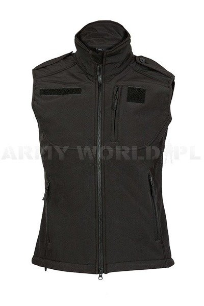 Soft Shell Vest Mil-tec Black New