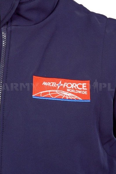 Soft Shell Vest Parcelforce Navy Blue Used