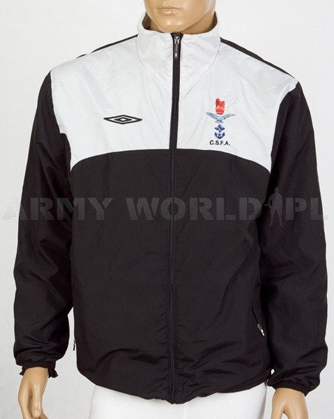 Sport Jacket Royal Air Force C.S.F.A. UMBRO Black-White Used