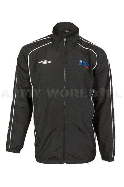 Sport Jacket Royal Air Force Football UMBRO Black Used