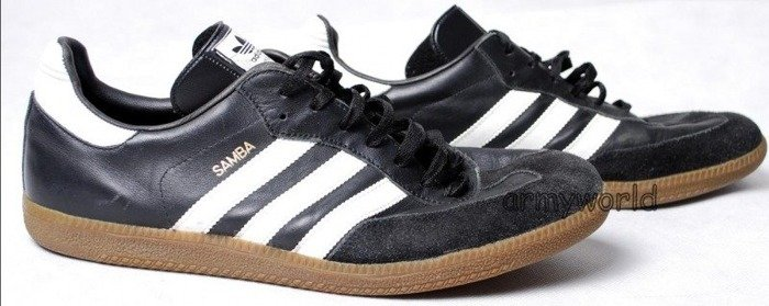 Sport Shoes Adidas Samba Military Bundeswehr Original Demobil