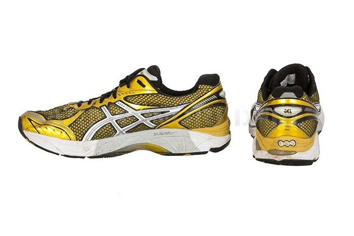 Sport Shoes Bundeswehr ASICS DUOMAX Art. T104N Original Demobil
