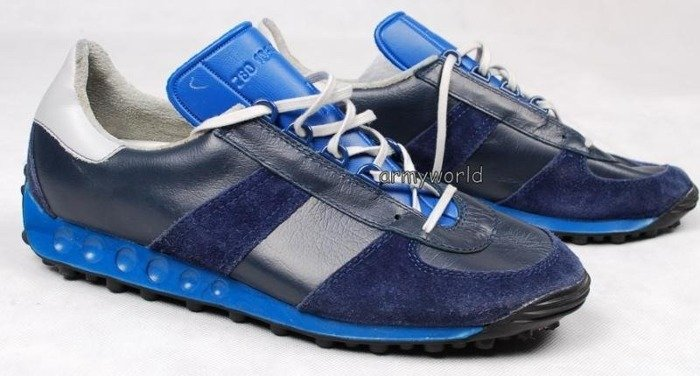 Sport Shoes Bundeswehr Dark Blue Version Military Trainers (M4) Demobil