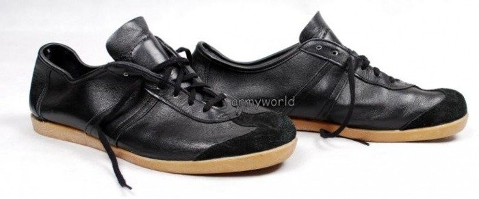 Sport Shoes Military Trainers Bundeswehr Black Original Used