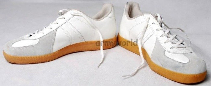 Sport Shoes Military Trainers Bundeswehr White M1 Original Demobil