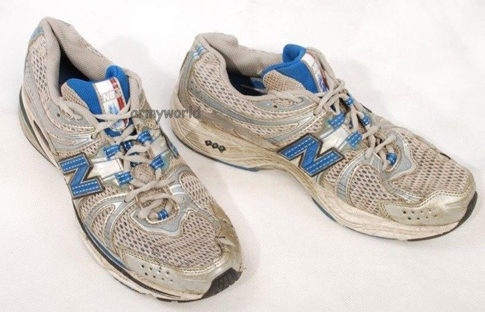 Sport Shoes Of Dutch Army NB (New Balance) Blue Size 42 1/2 Very Good Condition