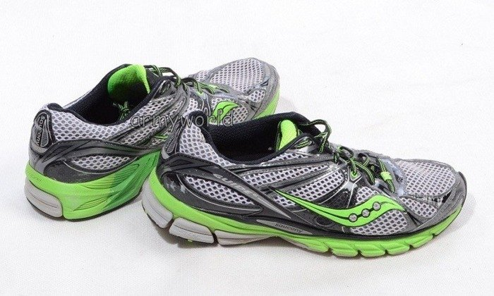 Sport Shoes Of Dutch Army SAUCONY GUIDE6 Green Demobil
