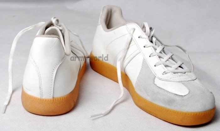 Sport Shoes Trainers Bundeswehr White M1 Original New