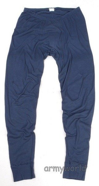 Sport thermoactive drawers ODLO TERMIC Dark blue - Original - Demobil - secondhand