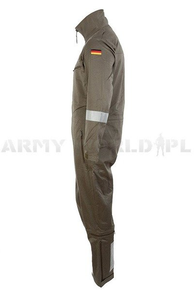 Suit Of Aviation Service Overalls Bundeswehr Oliv New