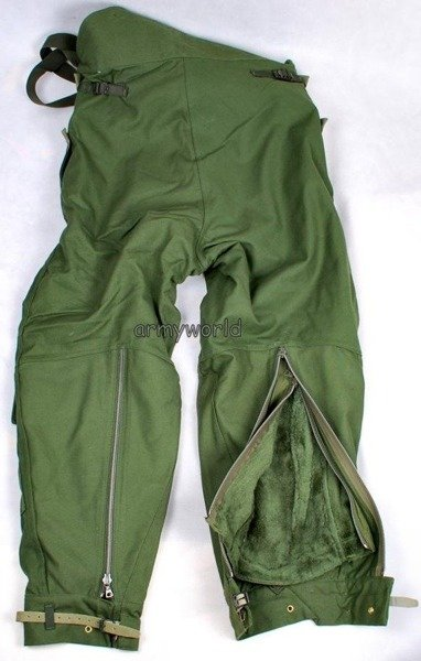 Swedish Motorcycle Warmed Trousers Oliv Original New