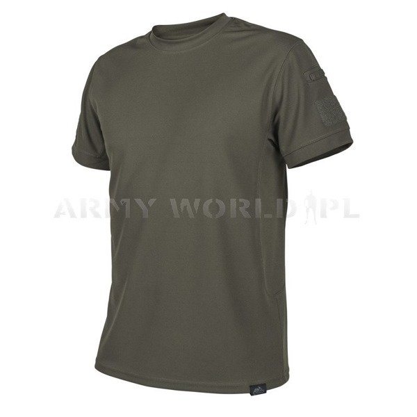 T-Shirt Helikon-Tex Thermoactive TACTICAL - TopCool - Oliv Green New