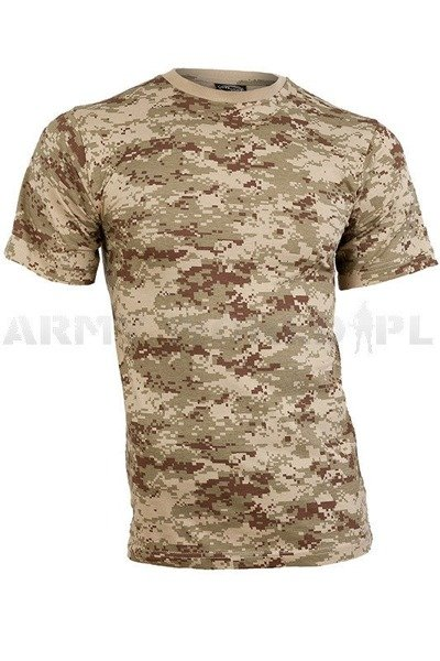 T-shirt Military Digital Desert Short sleeves Mil-tec New