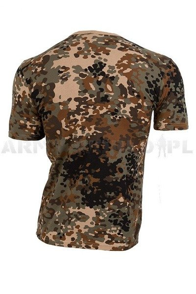 T-shirt Tibet Camo / Short Sleeves Miltec New