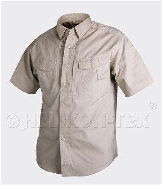TACTICAL SHIRT Defender SHORT SLEEVES Helikon-Tex Pod Mundur Khaki NEW