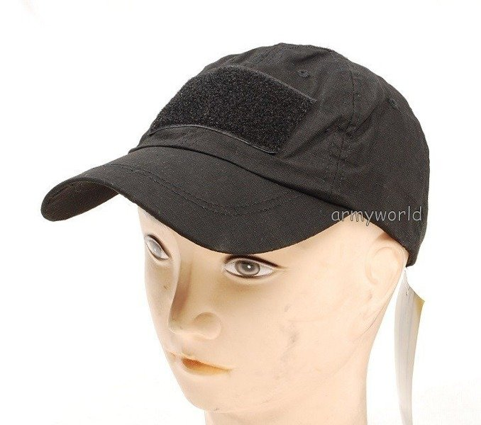 Tactical Baseball Cap Black Mil-tec New
