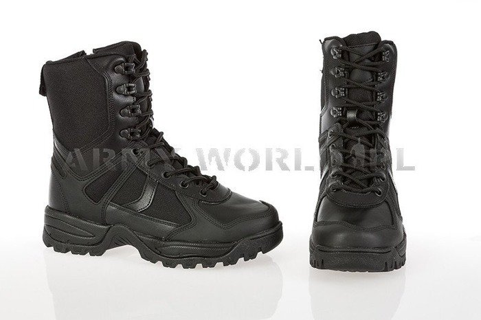 Tactical Boots Patrol II Generation Black Mil-tec New