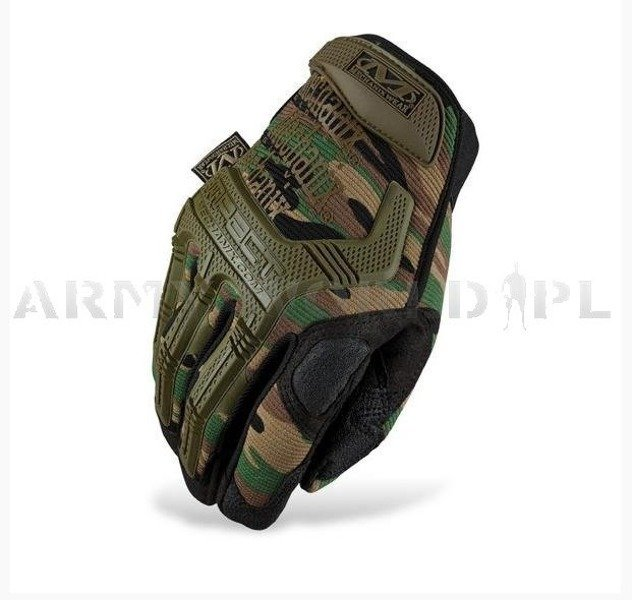Tactical Gloves Mechanix Wear M-Pact Woodland New