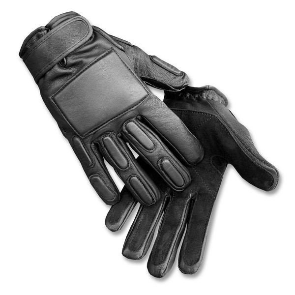 Tactical Gloves SEC Full Finger SWAT type ASG Black Mil-tec New