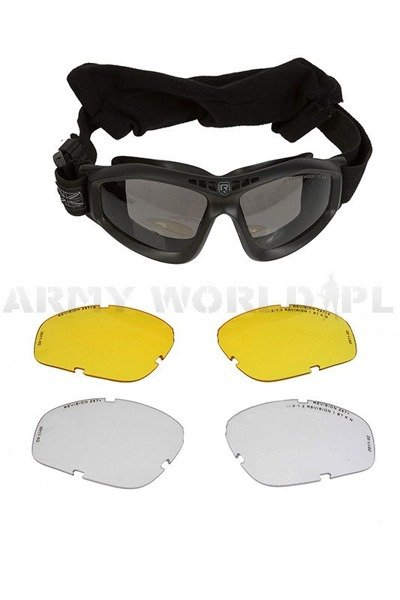 Tactical Goggles Revision Bullet Ant Made in USA Ballistic Demobil Very Good Condition