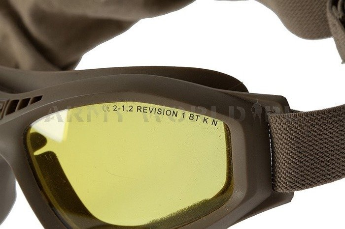Tactical Goggles Revision Made in USA Ballistic Demobil Very Good Condition