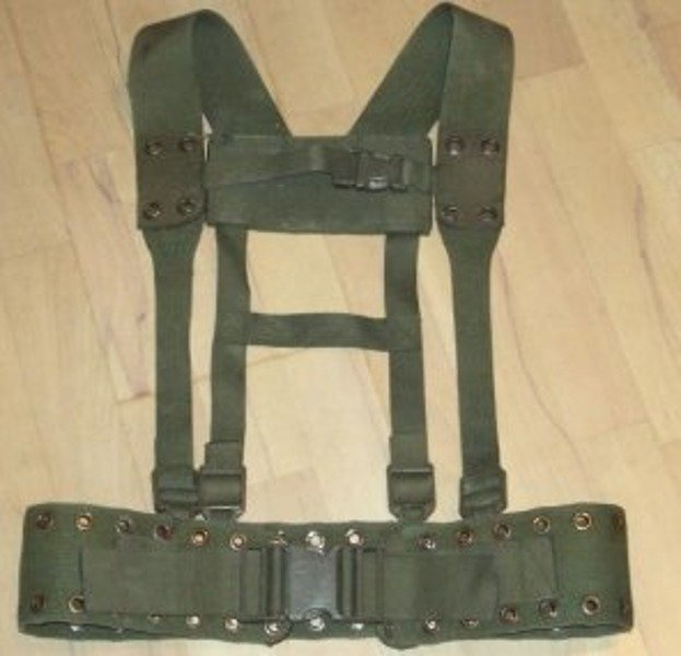 Tactical Instrumentation Bundeswehr (Belt + Braces ) Original Demobil SecondHand