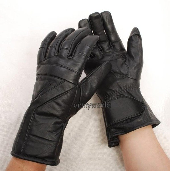 Tactical Leather Gloves REMO Warmed Dutch New