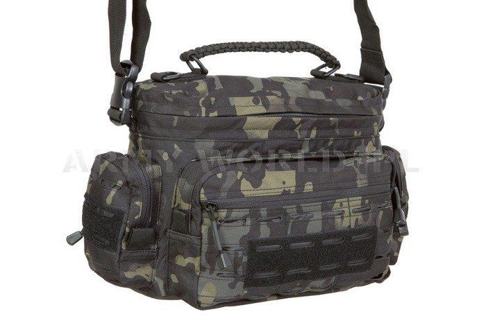 Tactical Paracord Bag Mil-tec Small Black Multitarn New