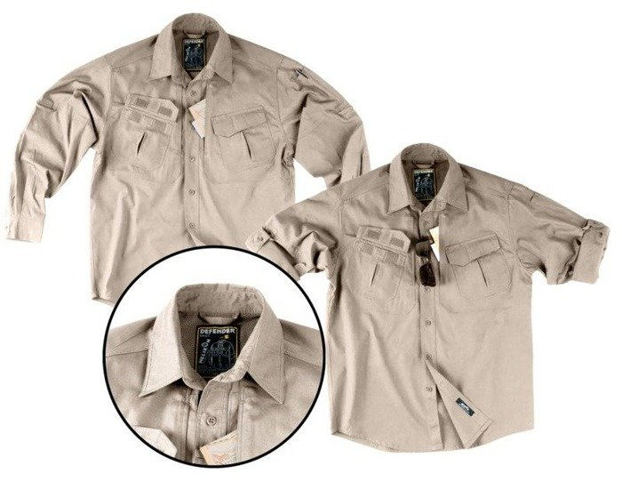 Tactical Shirt Defender Pod Mundur Helikon-Tex Khaki New