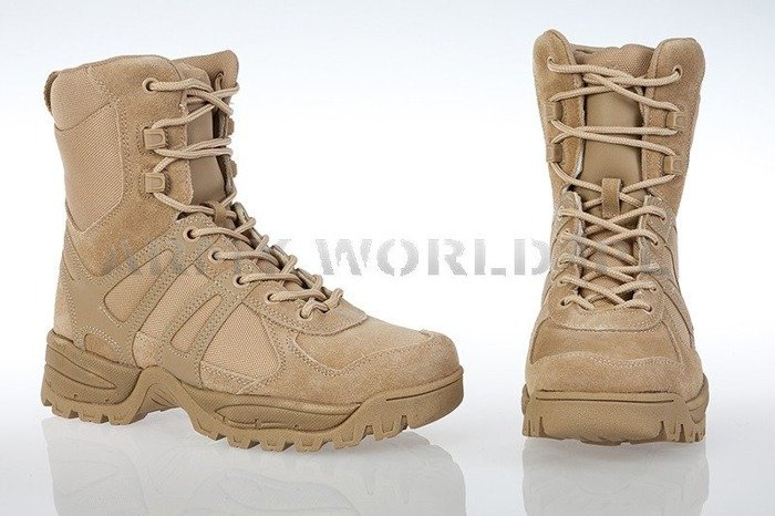Tactical Shoes Combat II Generation Desert Khaki Mil-tec New
