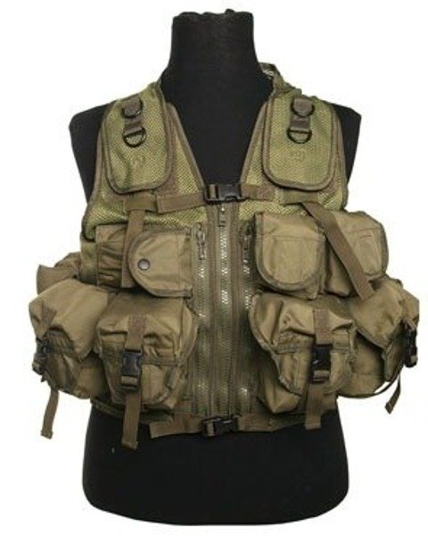 Tactical Vest OLIV Model US Paintball ASG New