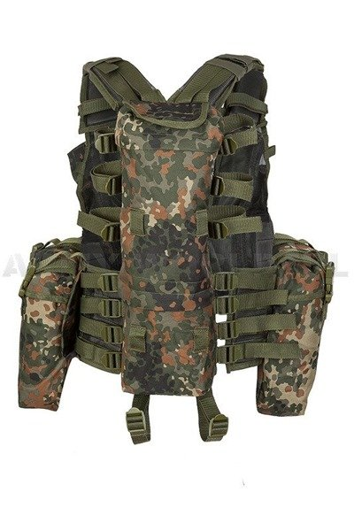 Tactical Vest Patern-83 PaintBall ASG Flecktarn Mil-tec New