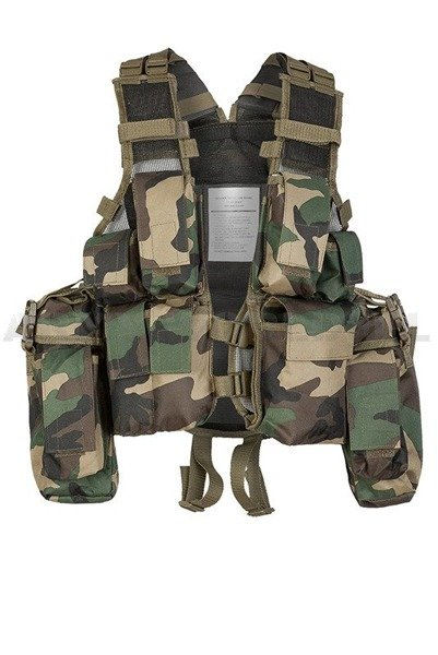 Tactical Vest Patern-83 PaintBall ASG Woodland Mil-tec New