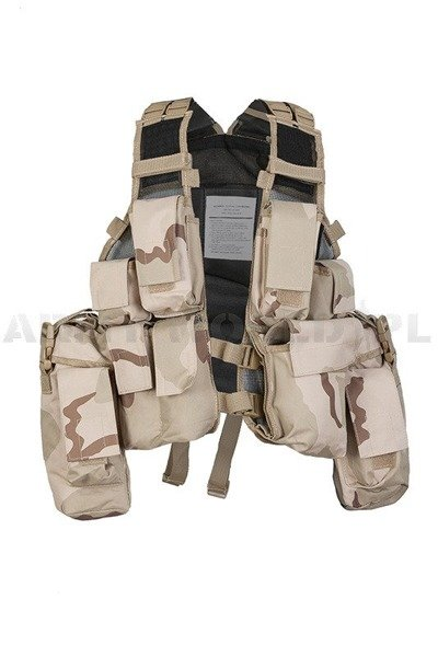 Tactical Vest Patern-83 Paintball ASG 3-Color Mil-tec New