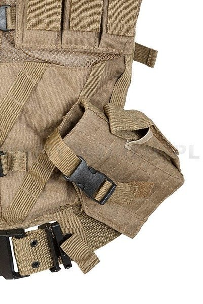 Tactical Vest USMC with handgun holster and with LC2 belt  Coyote New
