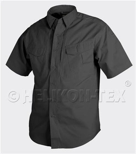 Tactical shirt Defender short sleeves Helikon-Tex maching to uniform black new
